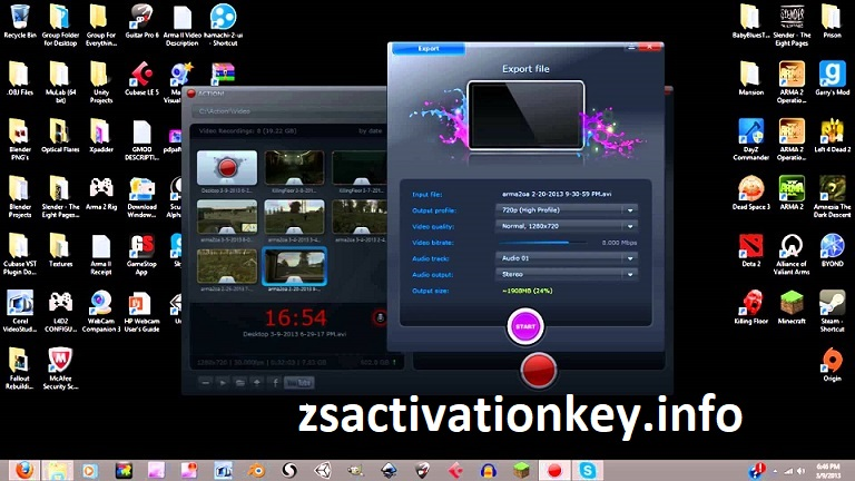 Mirillis Action Crack 4.12.1 With Full Version [Latest 2020] Download